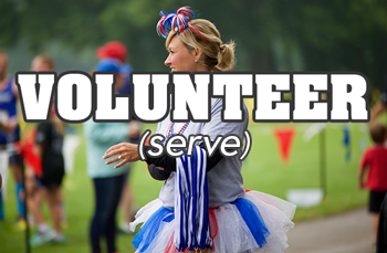Volunteer at the Race